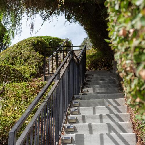 Concrete Stairs and Cable Railing