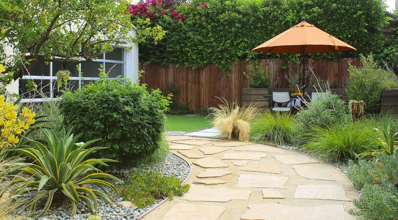 beautiful outdoor patio